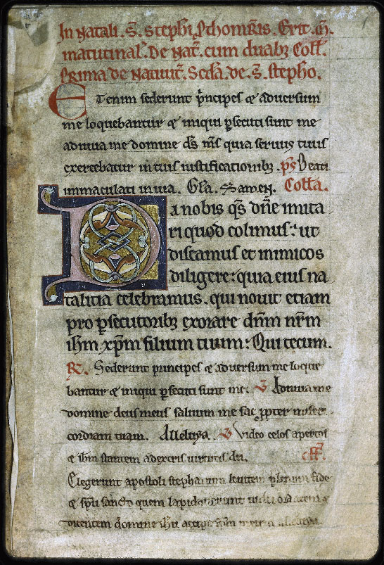 Auxerre, Cathédrale, n° 006, t. I, f. 001