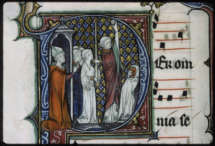 Auxerre, Cathédrale, n° 008, f. 099v - vue 1