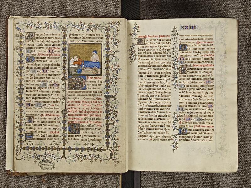 BAYEUX, Bibliothèque du chapitre, 0061, f. 037v - 038