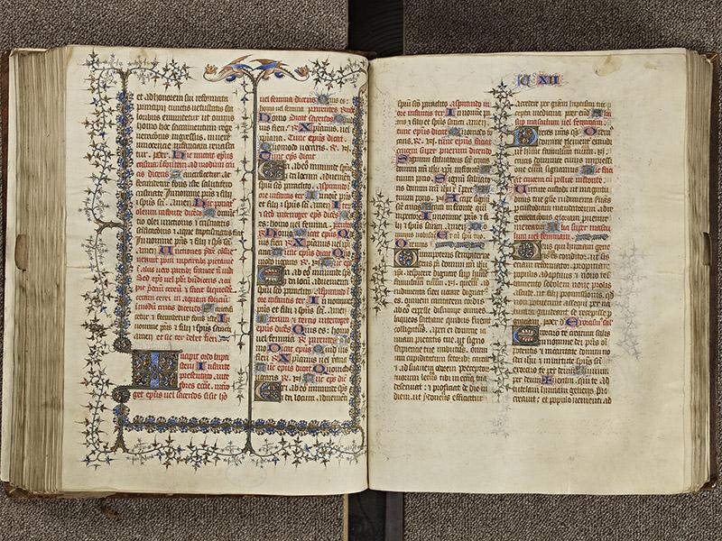 BAYEUX, Bibliothèque du chapitre, 0061, f. 124v - 125