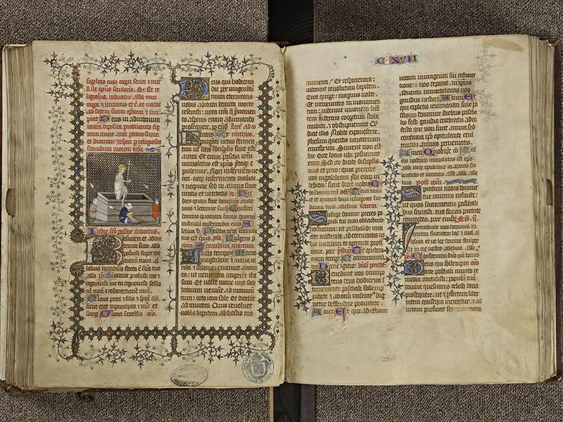 BAYEUX, Bibliothèque du chapitre, 0061, f. 129v - 130
