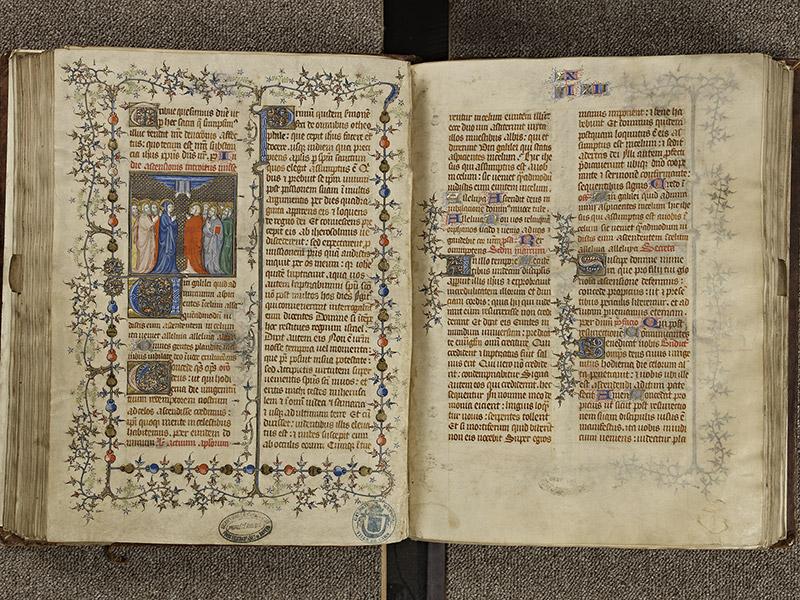 BAYEUX, Bibliothèque du chapitre, 0061, f. 144v - 145