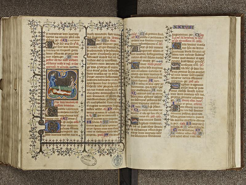 BAYEUX, Bibliothèque du chapitre, 0061, f. 266v - 267