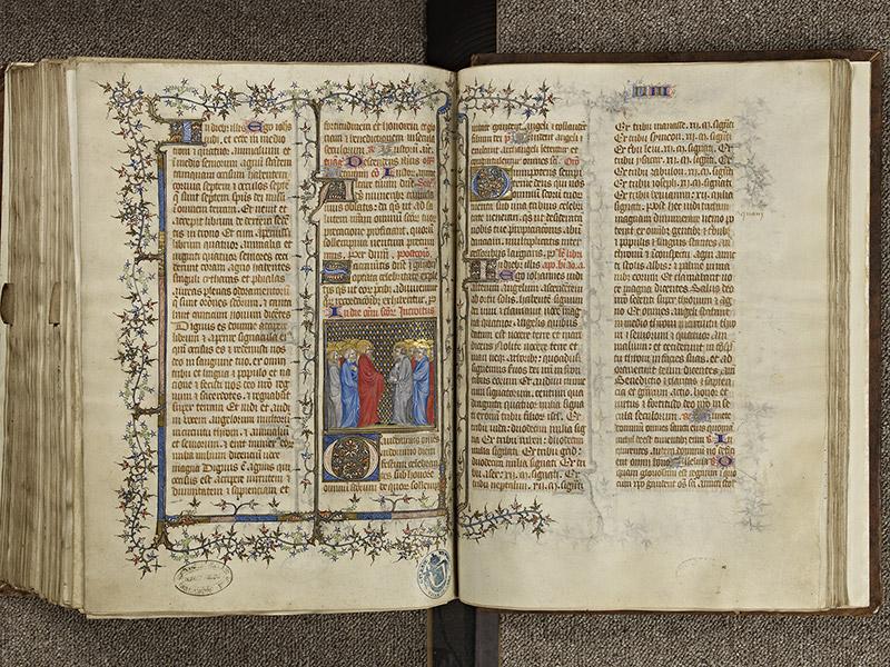 BAYEUX, Bibliothèque du chapitre, 0061, f. 278v - 279