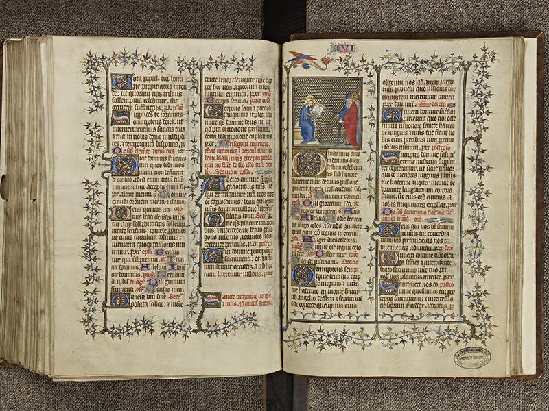 BAYEUX, Bibliothèque du chapitre, 0061, f. 280v - 281