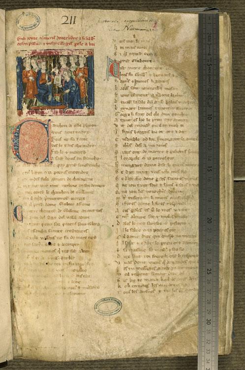 Boulogne-sur-Mer, Bibl. mun, ms. 0192, f. 001 - vue 1
