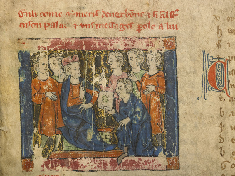 Boulogne-sur-Mer, Bibl. mun, ms. 0192, f. 001 - vue 3