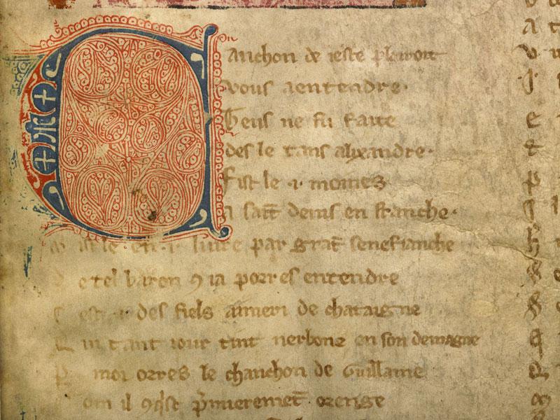 Boulogne-sur-Mer, Bibl. mun, ms. 0192, f. 001 - vue 4