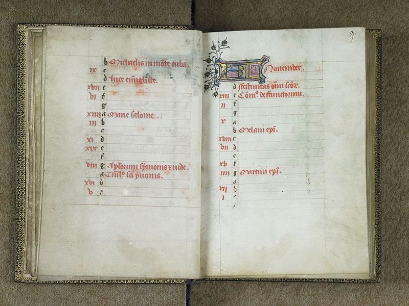 BREST, Bibliothèque municipale, 0001, f. 008v - 009