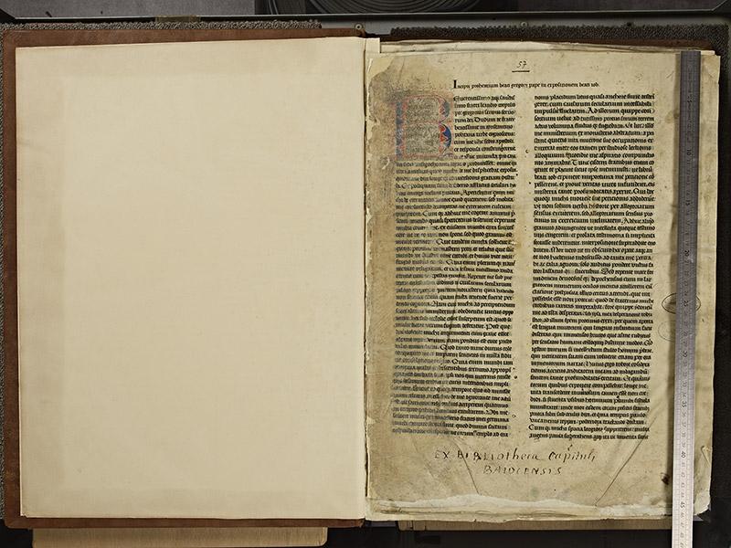 CAEN, Archives départementales du Calvados, G(006) 0057, f. 000v – 001 avec réglet