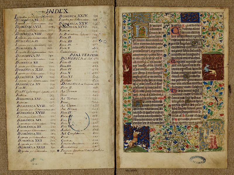 CAEN, Bibliothèque municipale, 0024 (041 in-4° 019), f. 00Bv - p. 0001