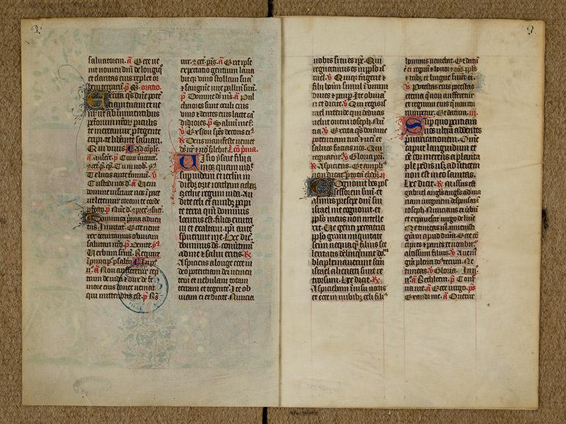 CAEN, Bibliothèque municipale, 0024 (041 in-4° 019), p. 0002 - p. 0003