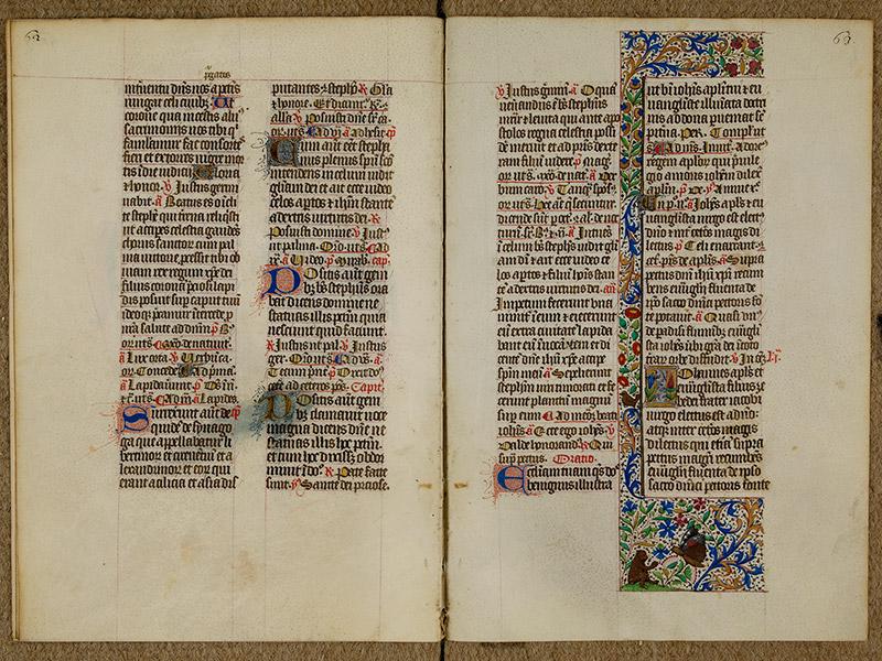 CAEN, Bibliothèque municipale, 0024 (041 in-4° 019), p. 0062 - p. 0063