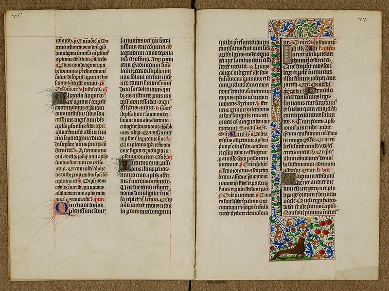 CAEN, Bibliothèque municipale, 0024 (041 in-4° 019), p. 0076 - p. 0077