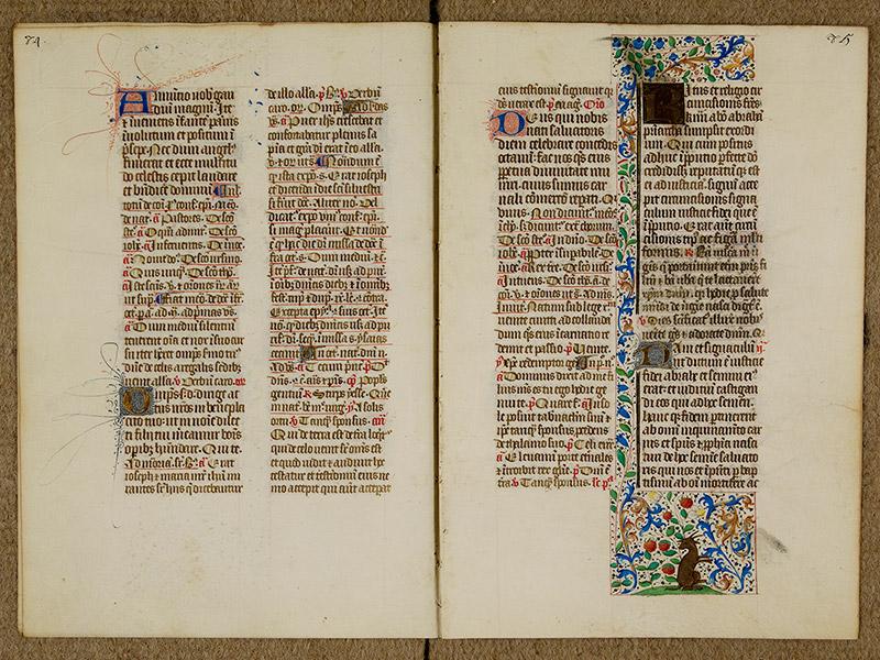 CAEN, Bibliothèque municipale, 0024 (041 in-4° 019), p. 0084 - p. 0085