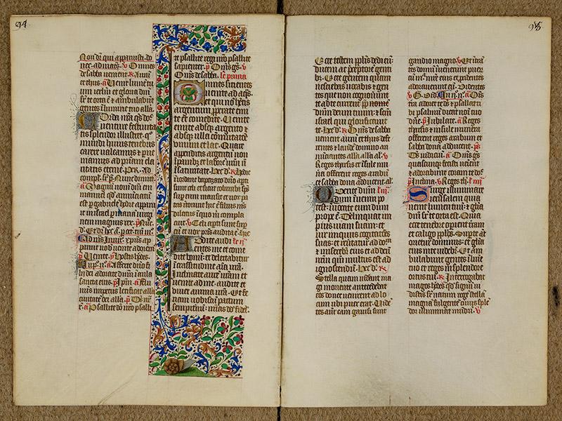 CAEN, Bibliothèque municipale, 0024 (041 in-4° 019), p. 0094 - p. 0095