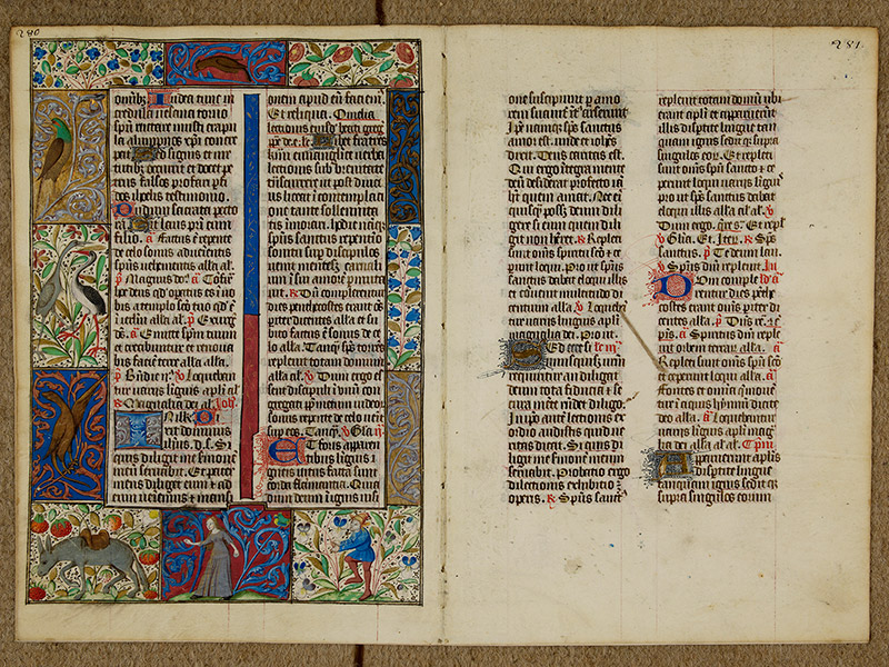 CAEN, Bibliothèque municipale, 0024 (041 in-4° 019), p. 0280 - p. 0281