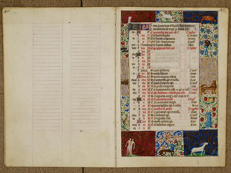 CAEN, Bibliothèque municipale, 0024 (041 in-4° 019), p. 0410 - p. 0411