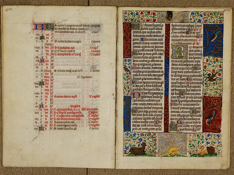 CAEN, Bibliothèque municipale, 0024 (041 in-4° 019), p. 0422 - p. 0423