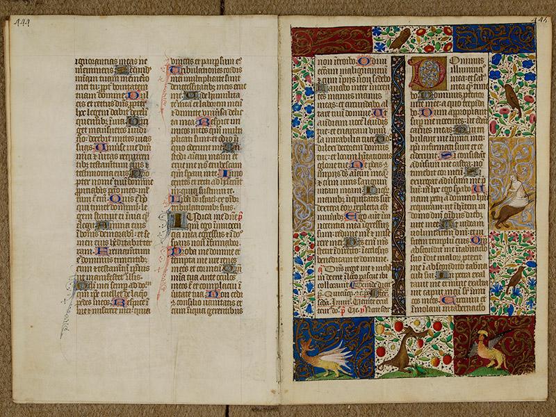 CAEN, Bibliothèque municipale, 0024 (041 in-4° 019), p. 0444 - p. 0445