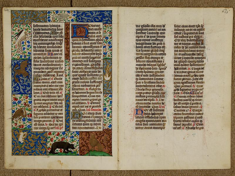 CAEN, Bibliothèque municipale, 0024 (041 in-4° 019), p. 0612 - p. 0613