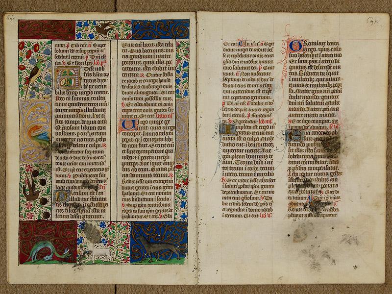CAEN, Bibliothèque municipale, 0024 (041 in-4° 019), p. 0690 - p. 0691