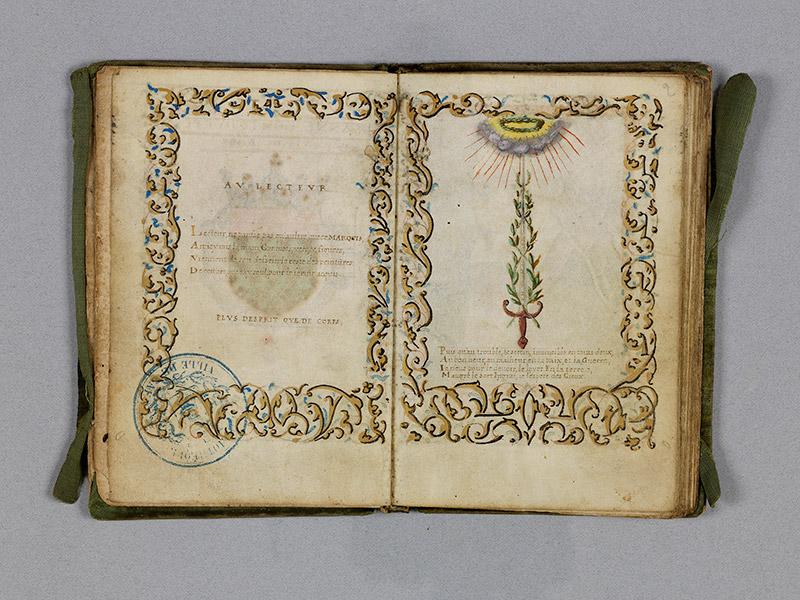 CAEN, Bibliothèque municipale, 0211 (469 in-8° 029), f. 001v - 002