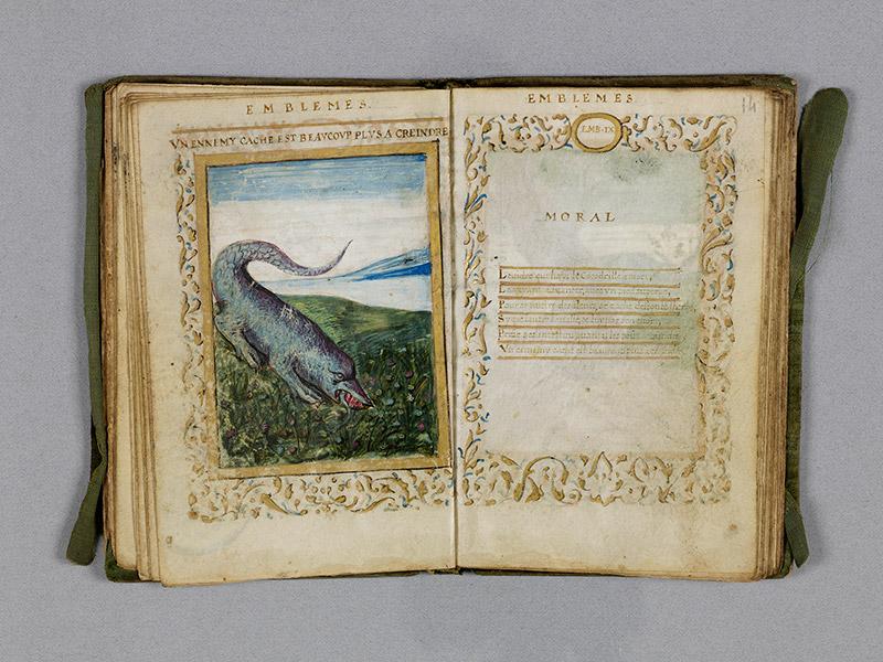 CAEN, Bibliothèque municipale, 0211 (469 in-8° 029), f. 013v - 014