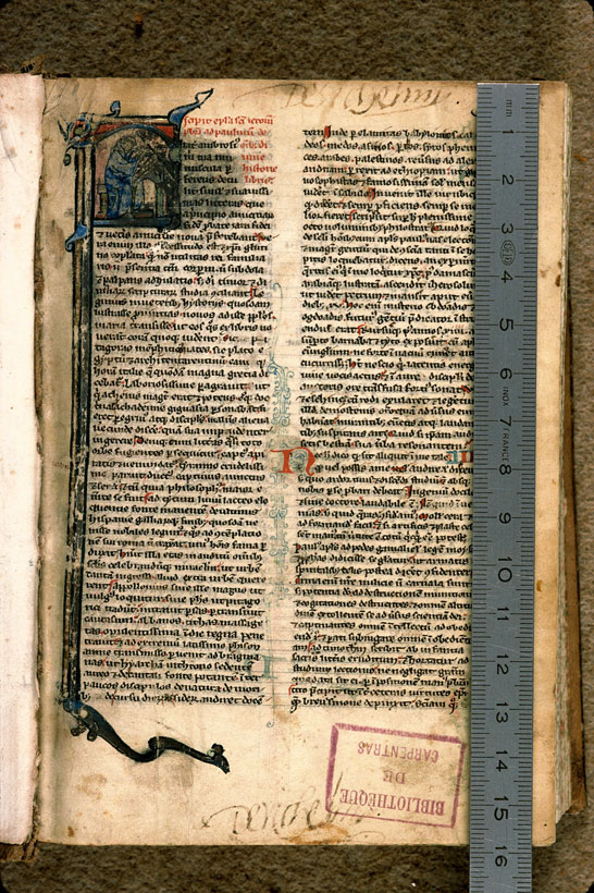 Carpentras, Bibl. mun., ms. 0001, f. 001 - vue 1