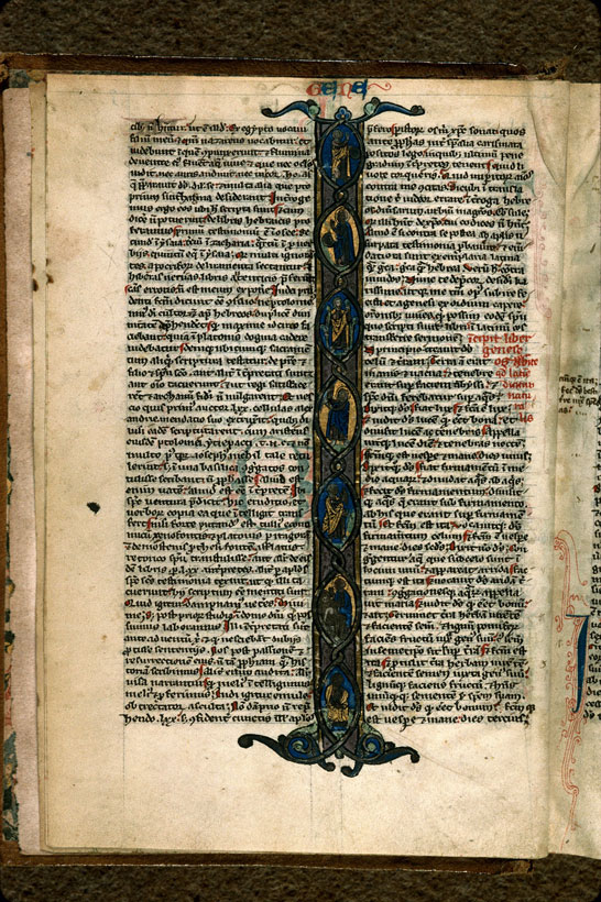 Carpentras, Bibl. mun., ms. 0001, f. 003v - vue 1
