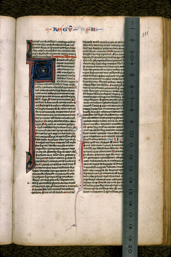 Carpentras, Bibl. mun., ms. 0002, f. 111 - vue 1