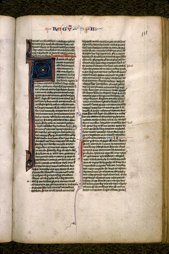 Carpentras, Bibl. mun., ms. 0002, f. 111 - vue 2