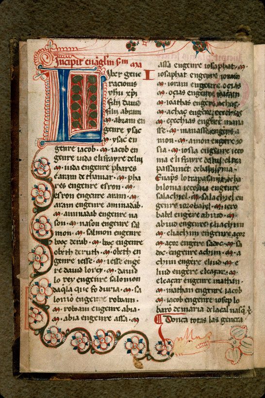 Carpentras, Bibl. mun., ms. 0008, f. 001v - vue 2