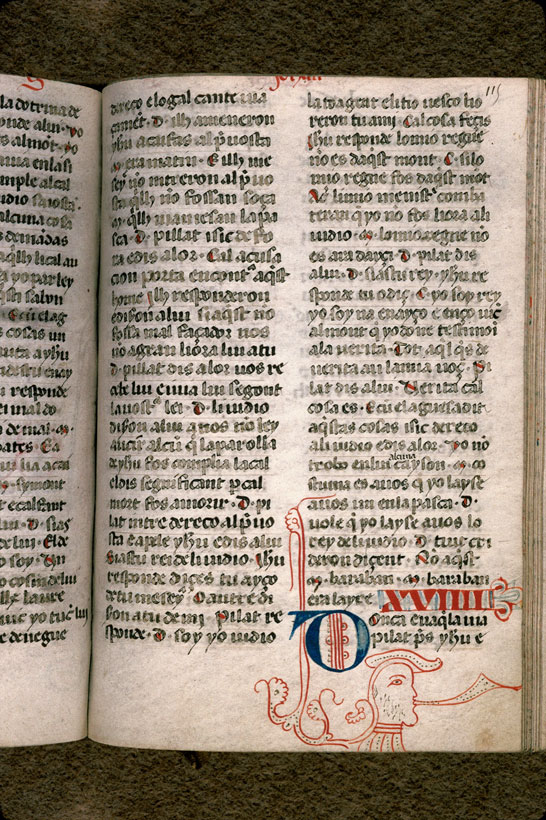 Carpentras, Bibl. mun., ms. 0008, f. 115 - vue 1