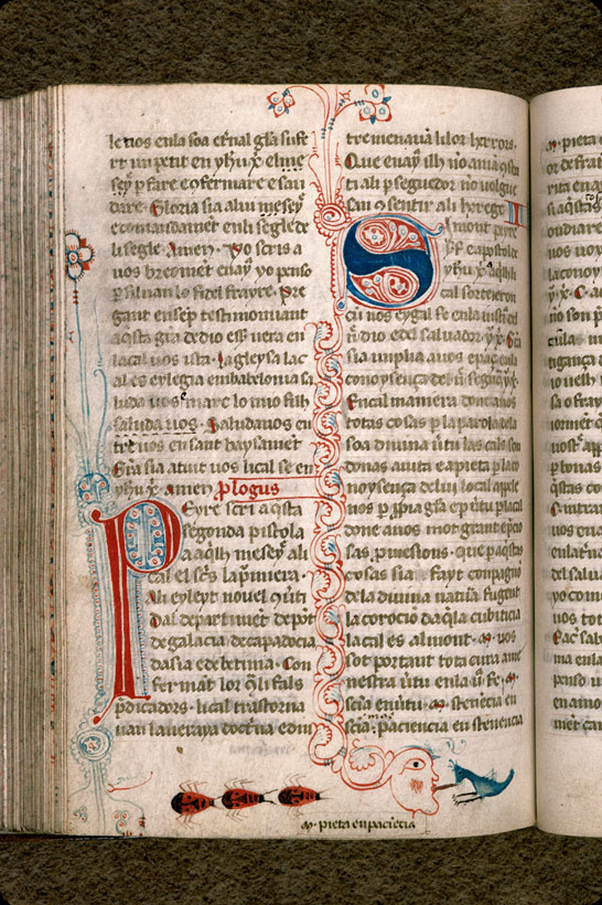 Carpentras, Bibl. mun., ms. 0008, f. 128v - vue 1