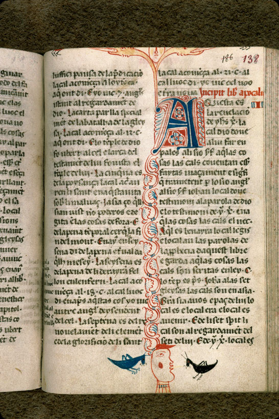 Carpentras, Bibl. mun., ms. 0008, f. 138 - vue 1