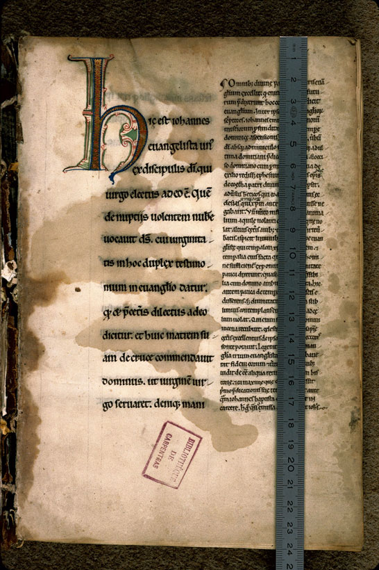 Carpentras, Bibl. mun., ms. 0023, f. 001 - vue 1