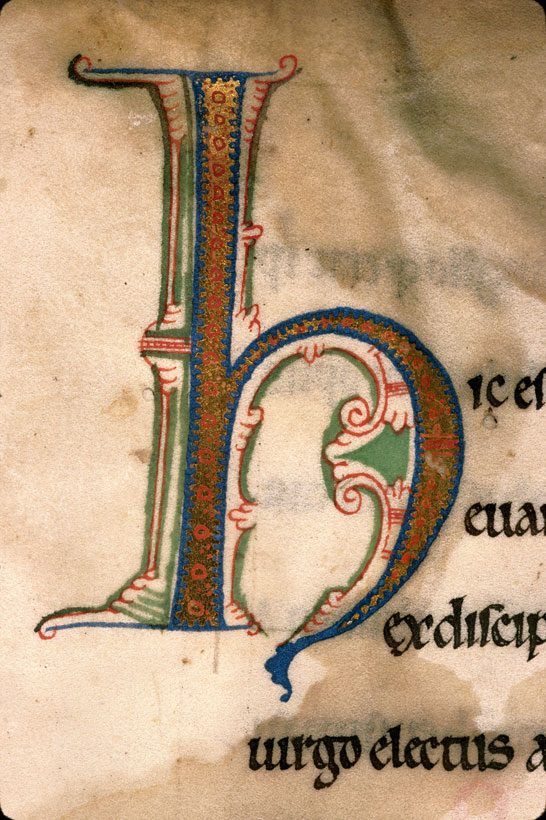 Carpentras, Bibl. mun., ms. 0023, f. 001 - vue 3