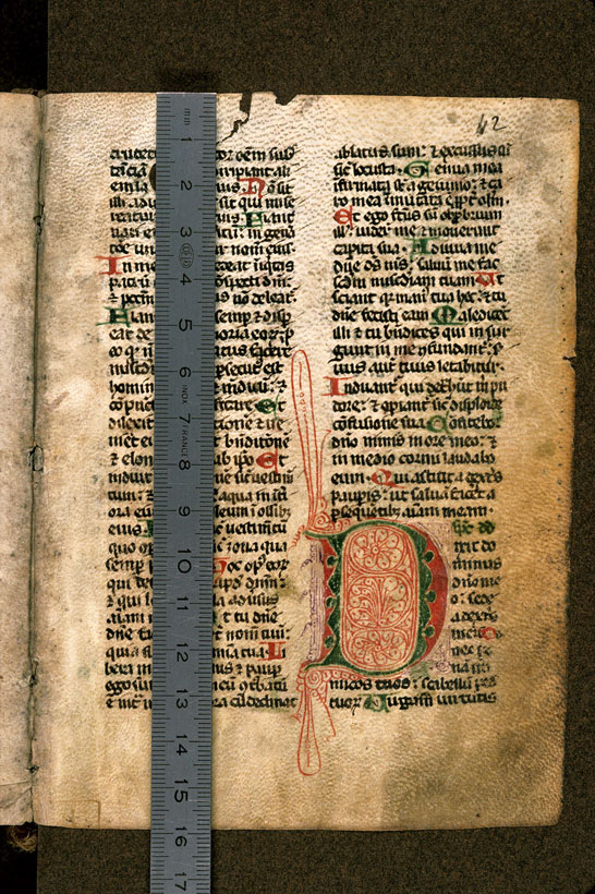 Carpentras, Bibl. mun., ms. 0043, f. 042 - vue 1