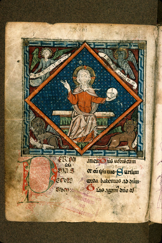 Carpentras, Bibl. mun., ms. 0043, f. 066v - vue 1