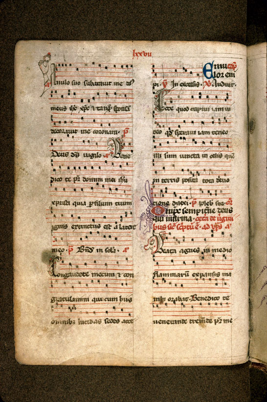 Carpentras, Bibl. mun., ms. 0043, f. 145v - vue 1