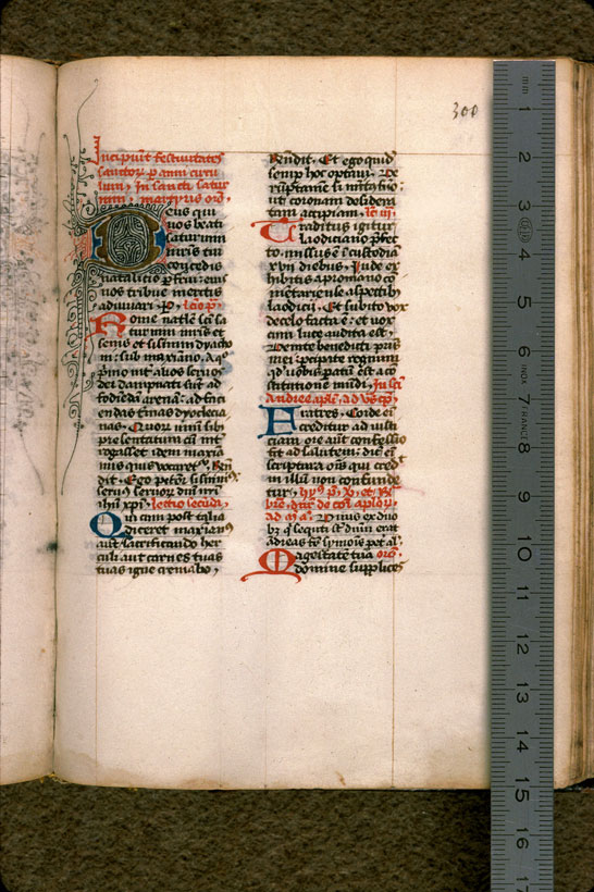 Carpentras, Bibl. mun., ms. 0044, f. 300 - vue 1