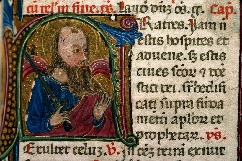 Carpentras, Bibl. mun., ms. 0046, f. 375 - vue 1