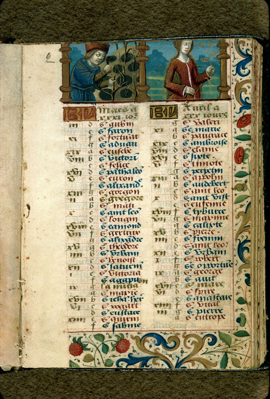 Carpentras, Bibl. mun., ms. 0054, f. 002 - vue 1