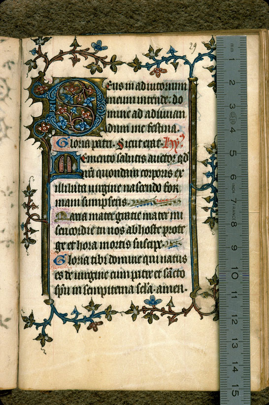 Carpentras, Bibl. mun., ms. 0057, f. 029 - vue 1