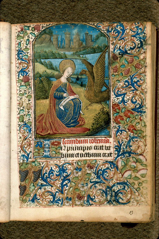 Carpentras, Bibl. mun., ms. 0061, f. 013 - vue 2