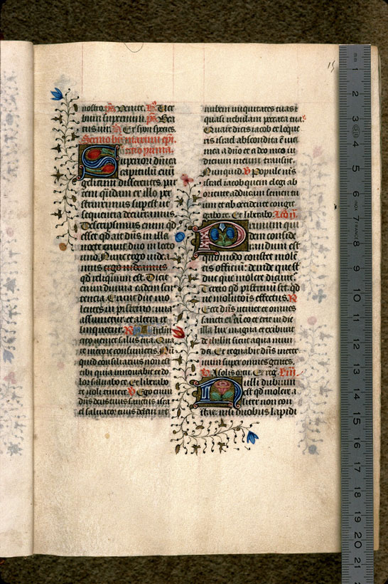 Carpentras, Bibl. mun., ms. 0069, f. 015 - vue 1