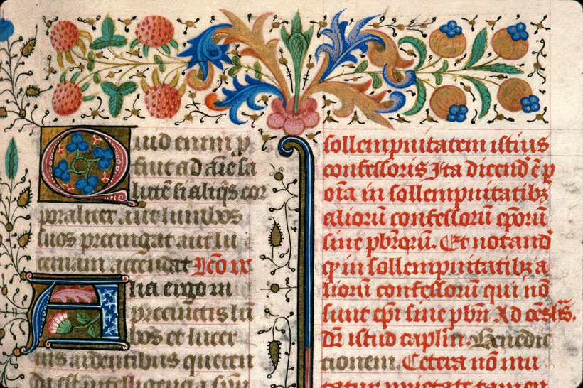 Carpentras, Bibl. mun., ms. 0069, f. 310 - vue 2
