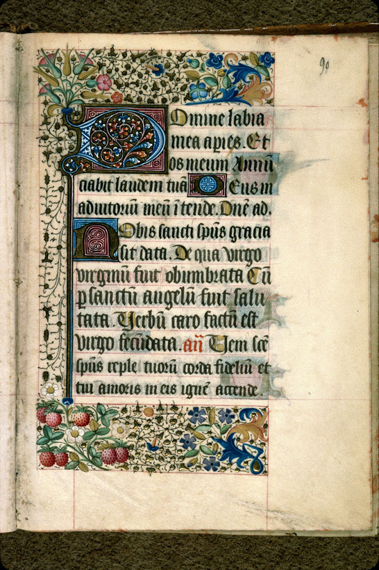 Carpentras, Bibl. mun., ms. 0077, f. 090 - vue 1