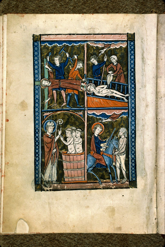Carpentras, Bibl. mun., ms. 0077, f. 176v - vue 1